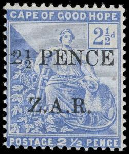 Cape of Good Hope / Vryburg Scott N4 Gibbons 4 Never Hinged Stamp