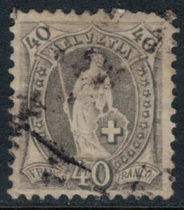 Switzerland #84  CV $50.00