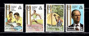 Virgin Is 409-12 MNH 1981 Dukes Awards
