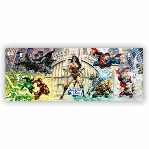 2021 SG: MS TBC - DC COLLECTION - JUSTICE LEAGUE  - UNMOUNTED MINT MINI SHEET