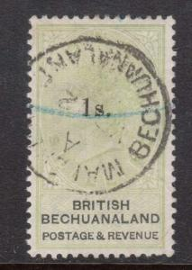 Bechuanaland #28 VF Used With CDS Cancel