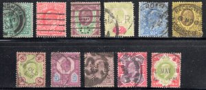 Great Brittain #127 to 135, 137, 138 Used  ---  C$269,70 - Nice cancel  ** 3 PER