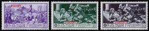Italy - Aegean Islands, Piscopi Scott 12-14 (1930) Mint LH VF, CV $12.00 B