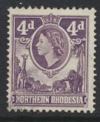 Northern Rhodesia  SG 66 SC# 66  Used - see details