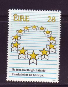 Ireland Sc 747 1989 European Parliament stamp mint NH