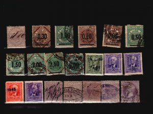 Italian Revenues 20 Used, with faults - C1847