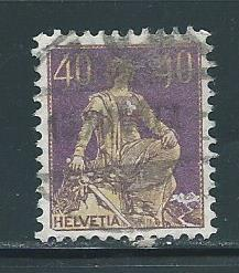 Switzerland 136a 60c Helvetia single Used (z2)