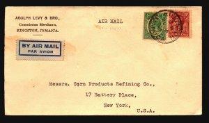 Jamaica 1934 Cover to USA - Z17673