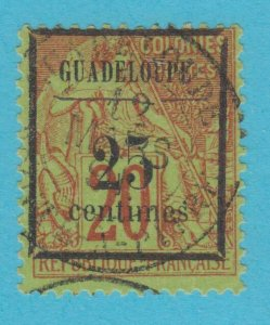 GUADELOUPE 5 USED NO FAULTS VERY  FINE !