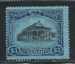 Malaya Kedah 44 $3 Council Chamber single MH