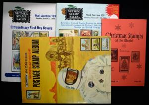 Extraordinary First Day Covers Christmas Stamps of the World Pioneer Stamp Album