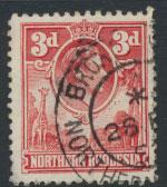 Northern Rhodesia  SG 35  SC# 35 Used see detail and scan