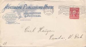 United States Minnesota Minneapolis 1905 machine  Blue Illustrated Advertisin...