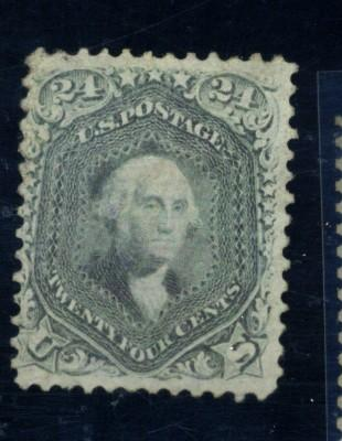 78B MINT F-VF No Gum Sm crease Cat$1000