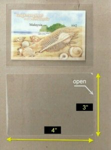 *FREE SHIP* OPP Plastic Sleeve Size [3 x 4] suitable for ms (120 pcs/pac)