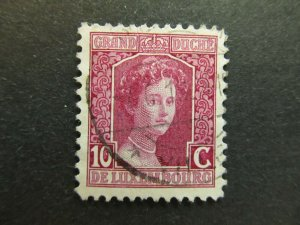 A4P26F39 Letzebuerg Luxembourg 1914-17 10c used