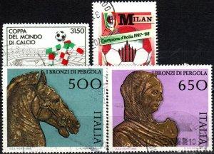 Italy #1742-5 F-F Used CV $4.80 (X5005)
