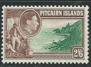 Pitcairn Islands  |  Scott # 8 - MH
