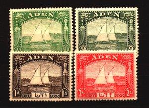 Aden Scott # 1 - 4 Unused LH