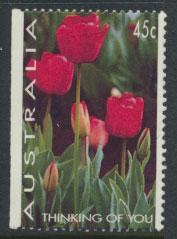 Australia SG 1446  Used  x booklet left margin imperf - Flowers