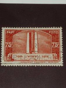 France 75c redish brown 1936