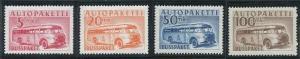 Finland Q6-Q9 MNH (1952-1958)