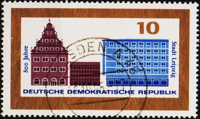 Germany(DDR). 1965 10pf  S.G.E844 Fine Used