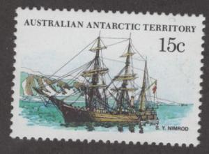 AAT L41 MNH S.Y. NIMROD  SHIP ISSUE