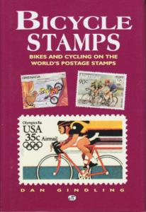 Bicycle Stamps, by Dan Gindling  NEW Hardcover