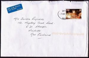 ST HELENA 2009 commercial airmail cover to New Zealand...........32943