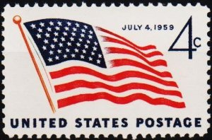 U.S.A. 1959 4c S.G.1131 Unmounted Mint