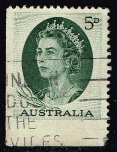 Australia #365 Queen Elizabeth II; Used (0.25)