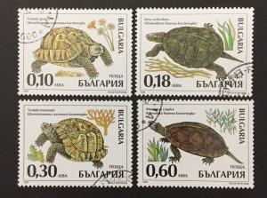 Bulgaria 1999 #4093-6, Turtle's, Used/CTO.