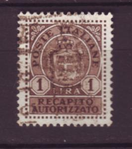 J20096  jlstamps 1945-6 italy hv of set used #ey5 wmk 277