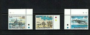 Mauritius: 1995 50th Anniversary of the end of World War II. MNH set