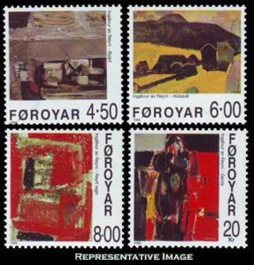 Faroe Islands Scott 364-367 Mint never hinged.