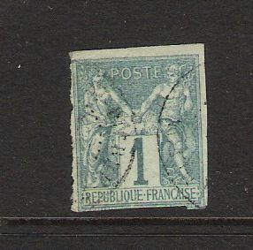 FRENCH COLONIES CLASSIC 24 VFU TYPE I N283