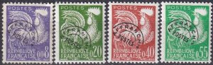 France #952-5  F-VF Unused  CV $33.80 (Z2563)