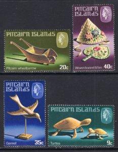 Pitcairn Islands 194-197 MNH VF