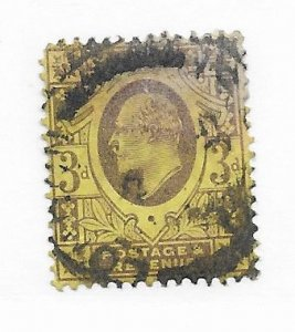 Great Britain #132 Faults Used - Stamp - CAT VALUE $19.00