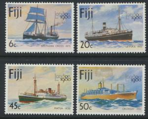 Fiji SG 596-599  SC# 426-429 MNH London 1980 Stamp exhibition see scan