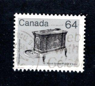 CANADA 932 Wood stove