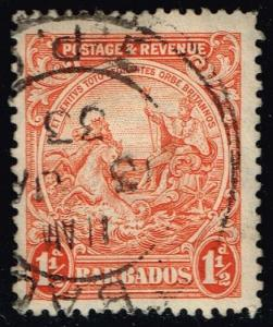 Barbados #168 Seal of the Colony; Used (1.25)