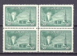 Canada#294  Block 4  Mint VF NH -  Lakeshore Philatelics