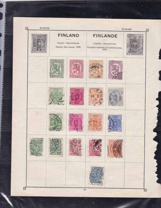 finland stamps page ref 17352