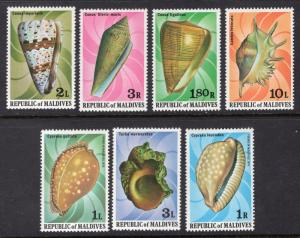MALDIVE ISLANDS SCOTT 786-792