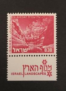 Israel 1972 #466 Tab, MNH