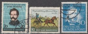 Germany #691-3 F-VF Used CV $24.75 (D85)