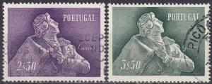 Portugal #825-6 F-VF Used CV $12.10 (SU7234)