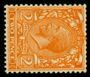 SG421b SPEC N36(1)cb, 2d orange, WMK SIDE VARIETY, NH MINT.